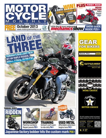 Motor Cycle Monthly - October 2013 - Full Edition by Mortons Media