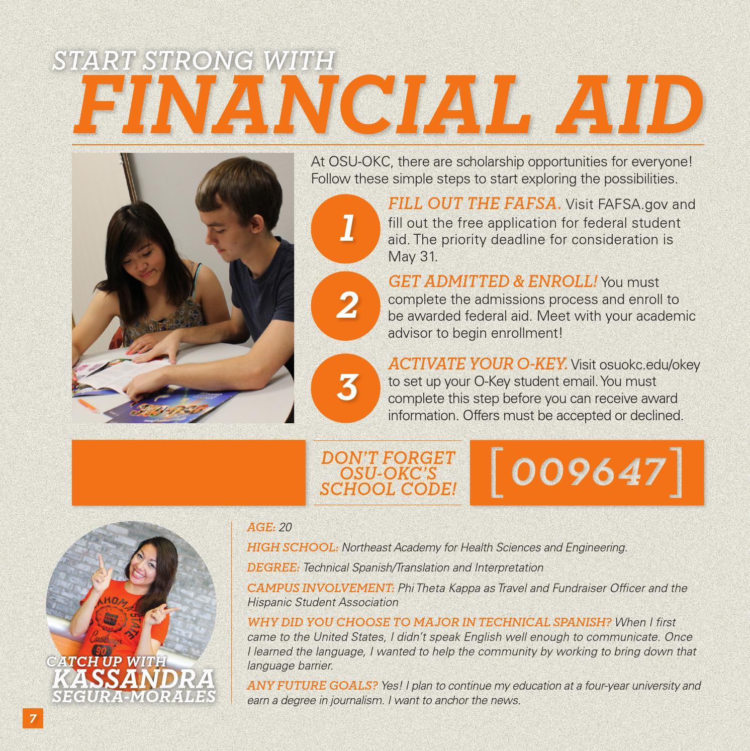 JANICE: Osu okc financial aid