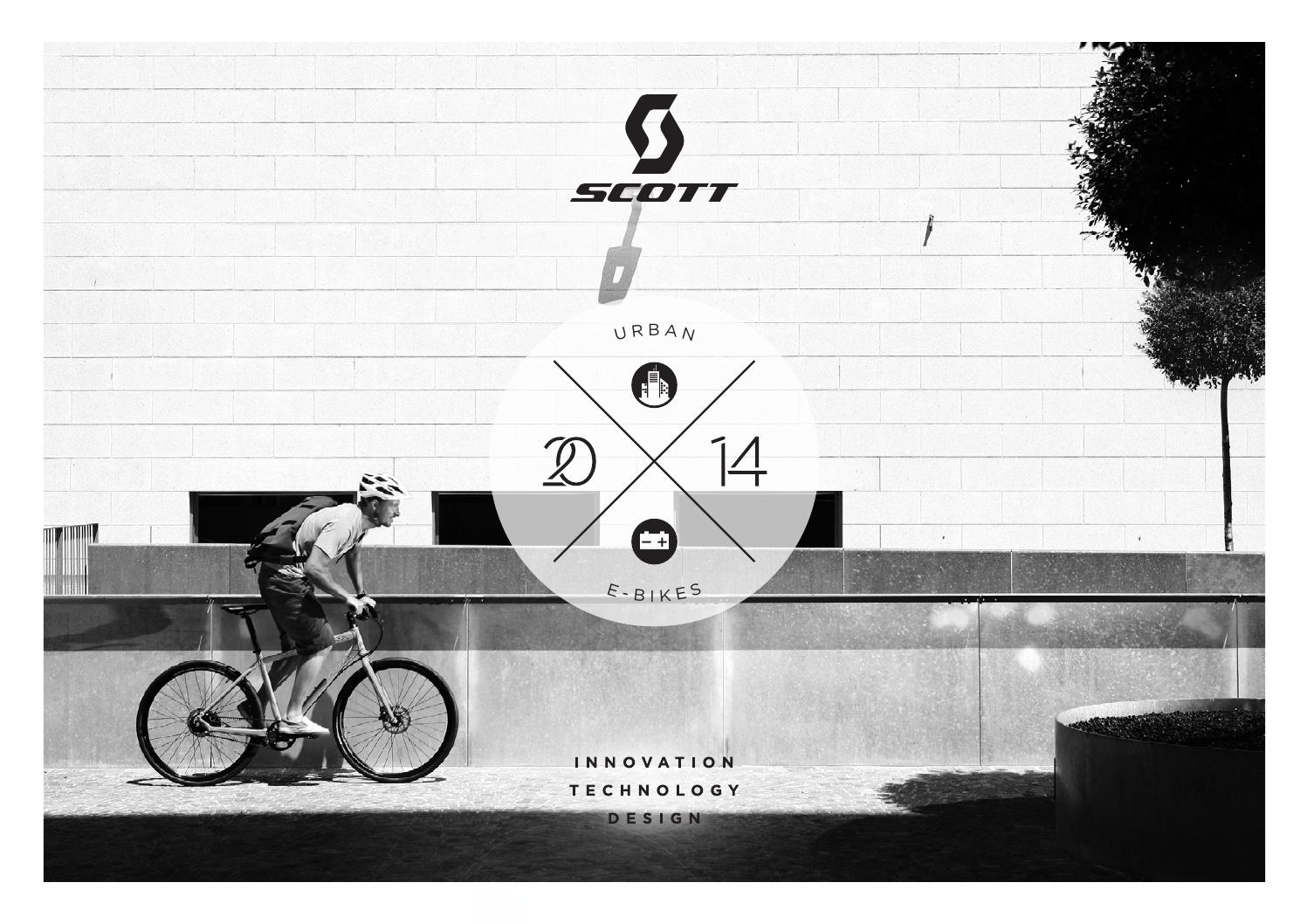Scott Urban Ebikes 2017 Fr