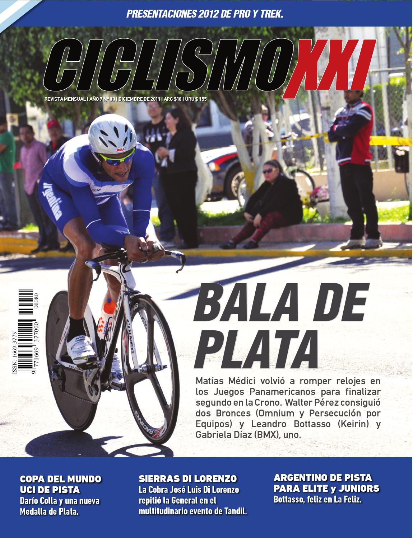 REVISTA NO. 80 by Ciclismo XXI - issuu