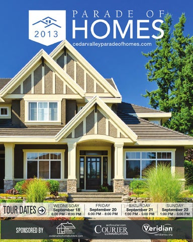 Cedar Valley Parade of Homes 2011 by Waterloo-Cedar Falls Courier ...