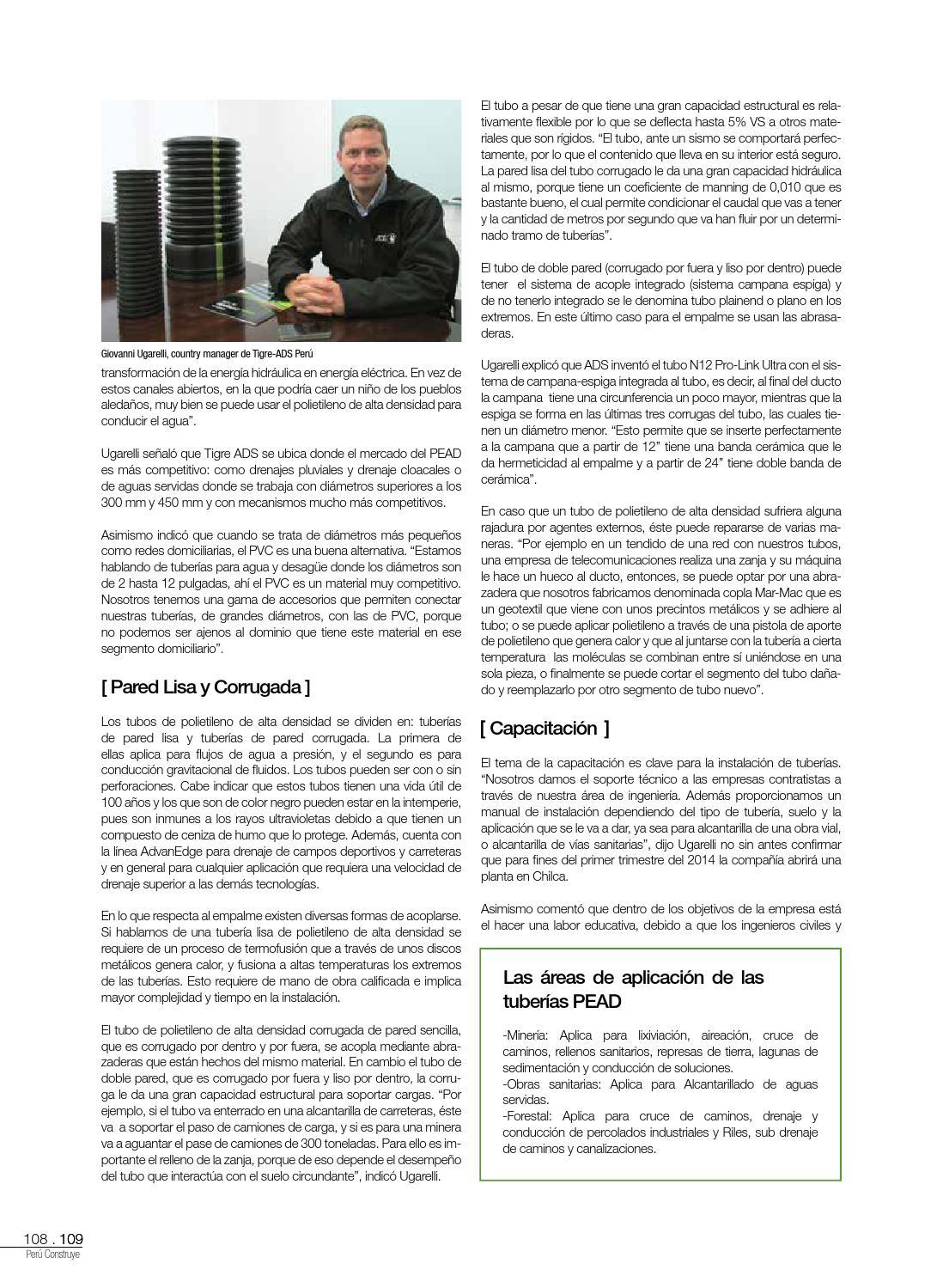 Revista Perú Construye N° 24 by GRUPO DIGAMMA - issuu