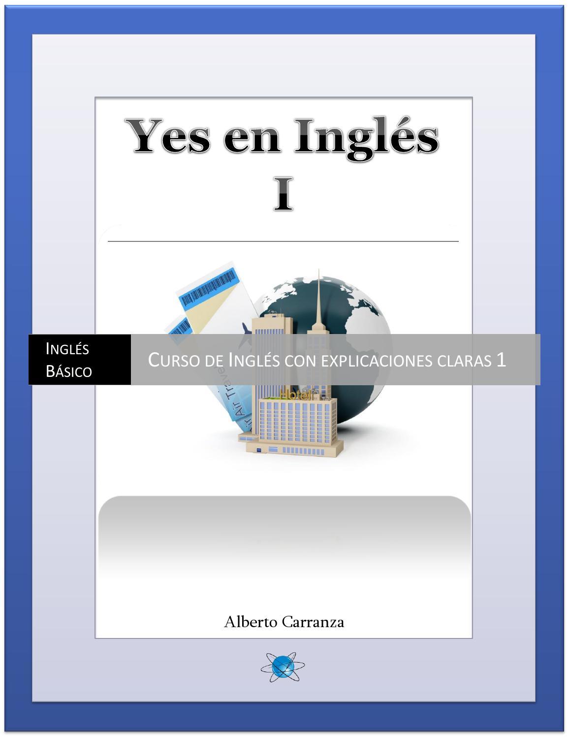 Yes En Ingles 1 Ingles Basico Curso De Ingles Con