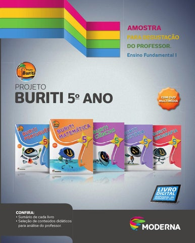 Projeto Buriti 5º Ano By Editora Moderna Issuu
