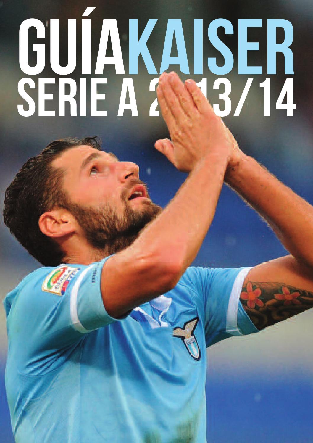 Guia Kaiser Serie A 2013/14 by Kaiser Football - Issuu