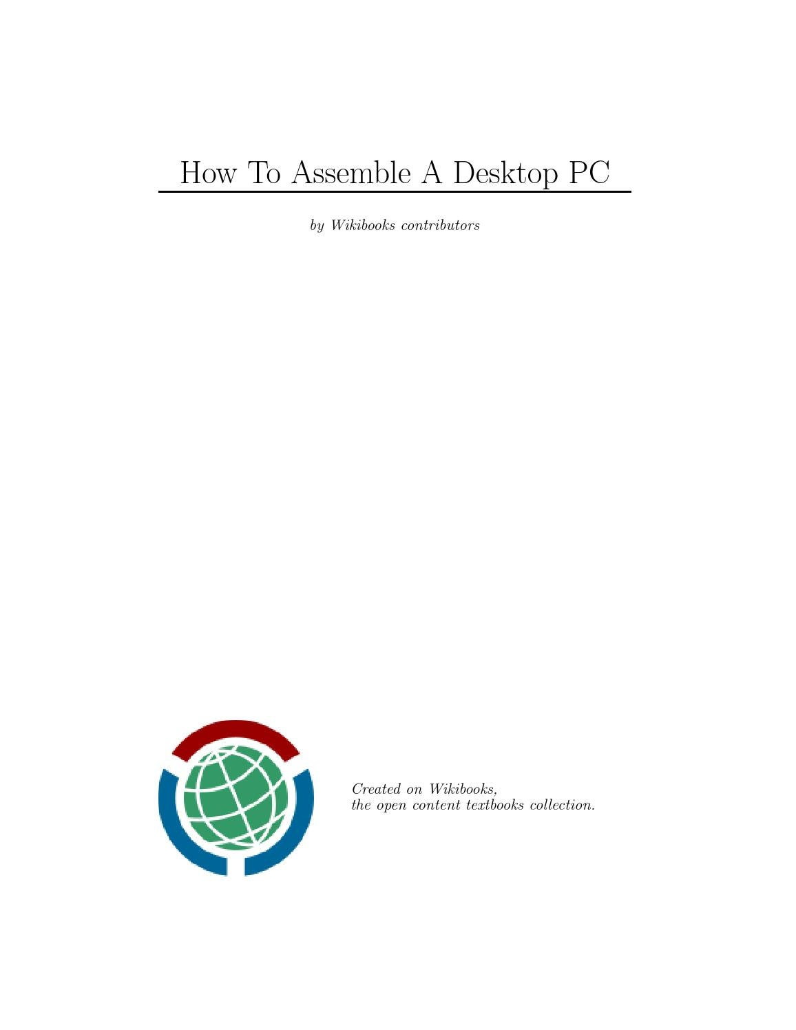 How To Assemble By Saulo Silva Issuu Diagram Of All The Components Are Placed On Asus Cubx