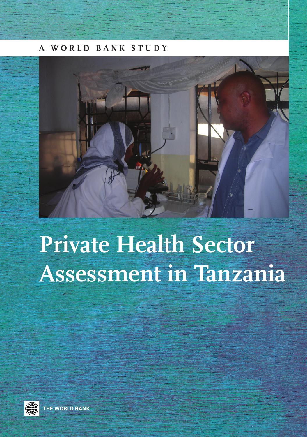 Private Health Sector Assessment In Tanzania By World Bank Auto Electronic Guidepost Circuit Diagram Measuringandtestcircuit Publications Issuu