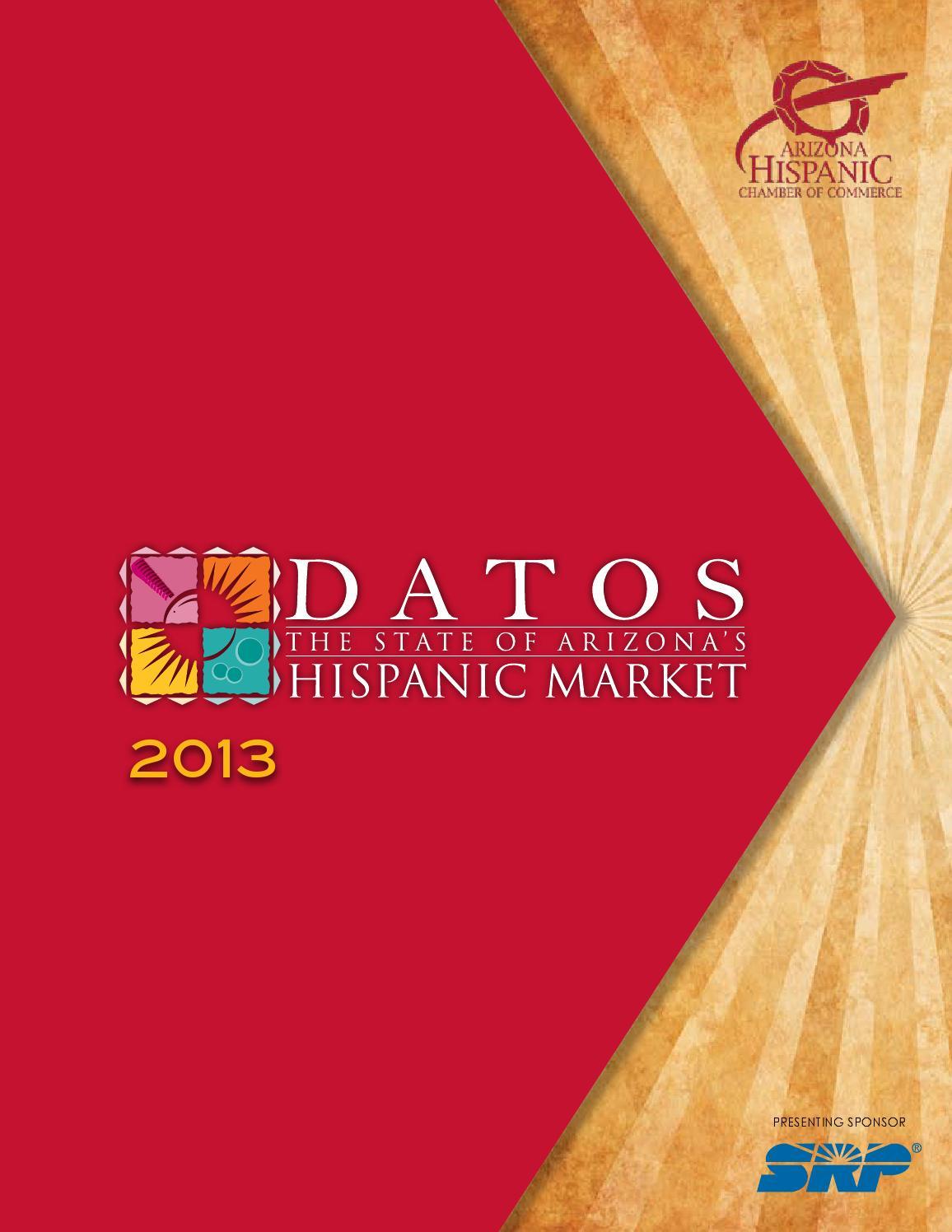 d677bda5ab0 Datos Book 2013 by ARIZONA HISPANIC CHAMBER OF COMMERCE - issuu