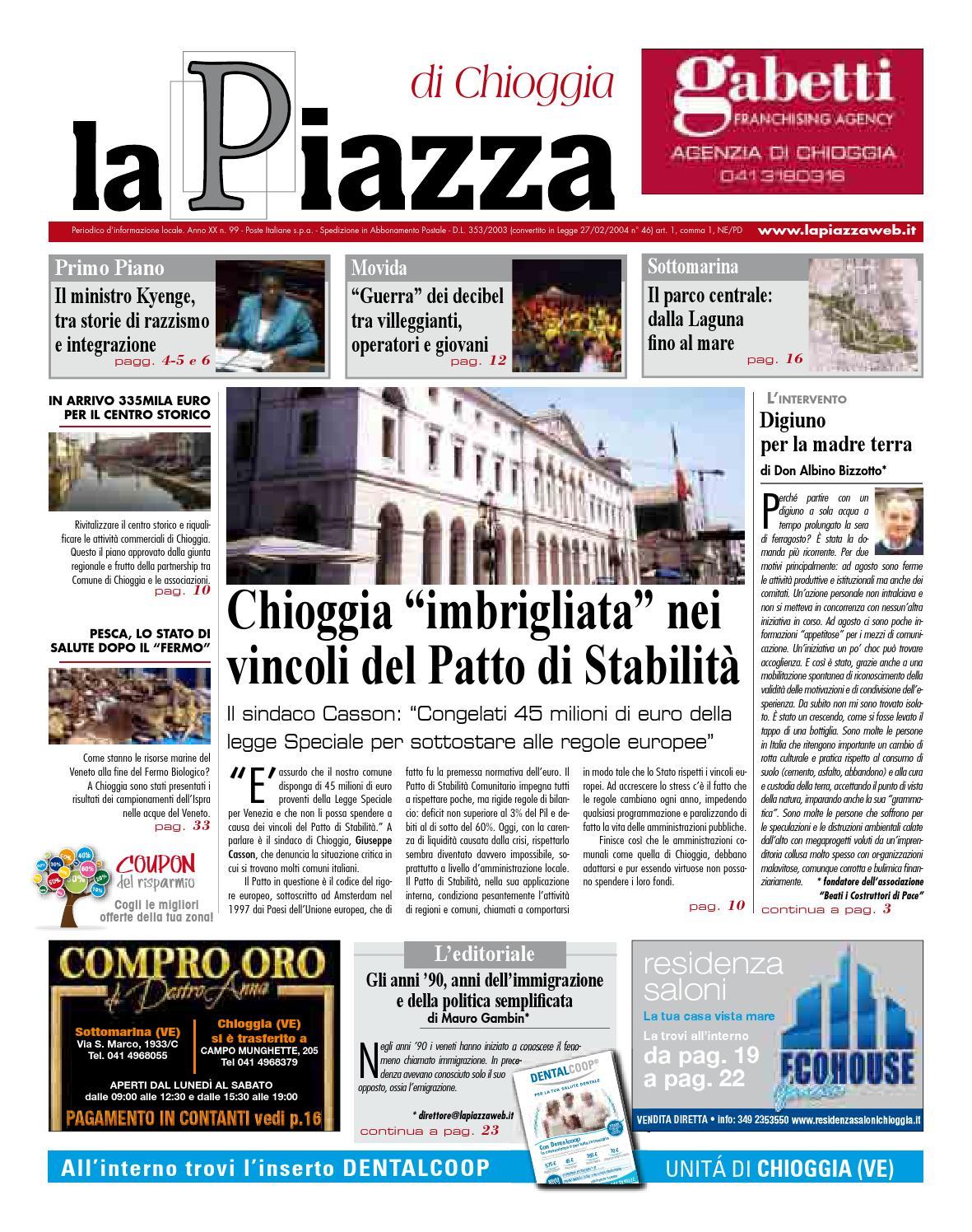 Chioggia ago2013 n99 by lapiazza give emotions - issuu 808ae783eed