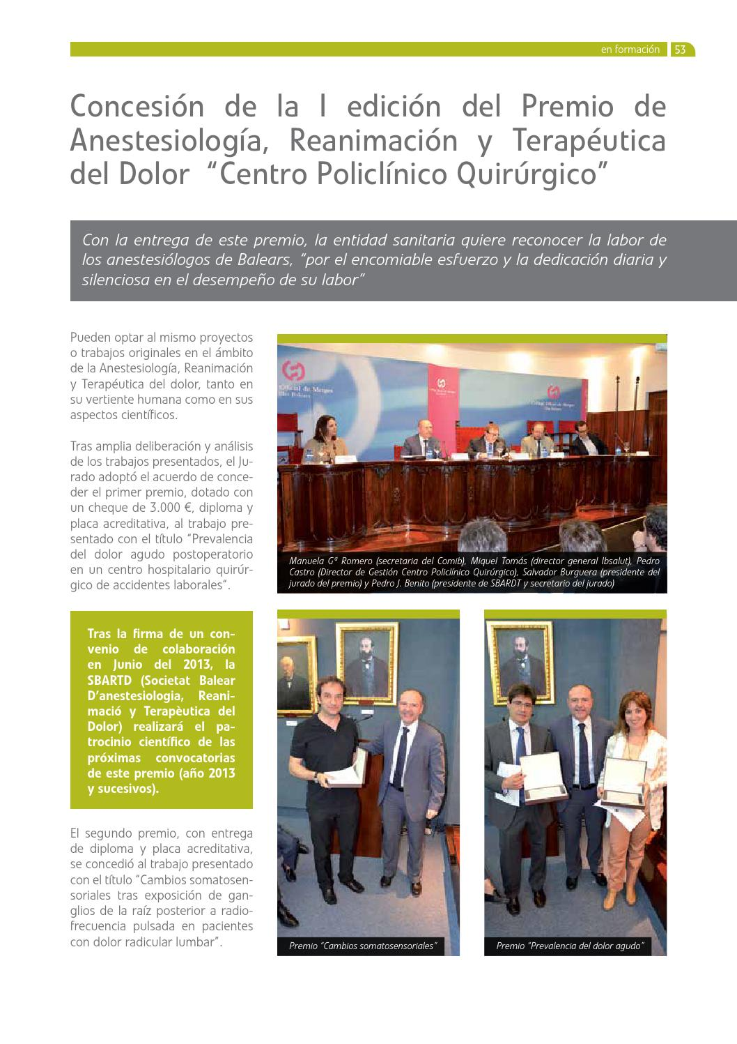 Metges74 by Col·legi de Metges Illes Balears - issuu