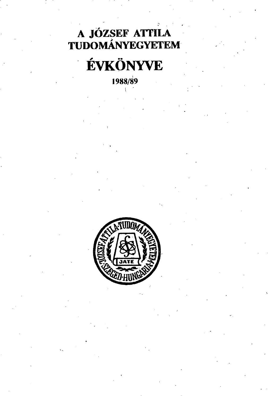 Evkonyv 1988 89 by SZTE Alma Mater - issuu e4f9a0d550