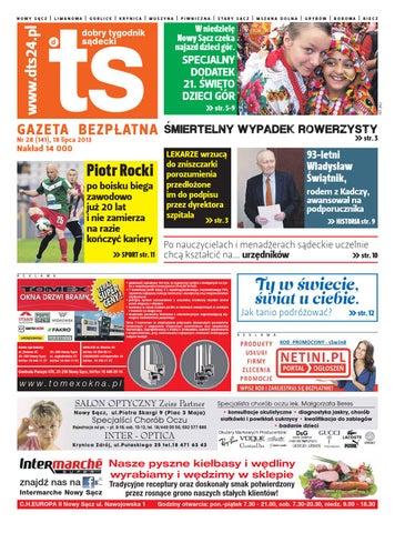 cb8a047930af0c DTS 28 (141) 18 lipca 2013 by Dobry Tygodnik Sądecki - issuu