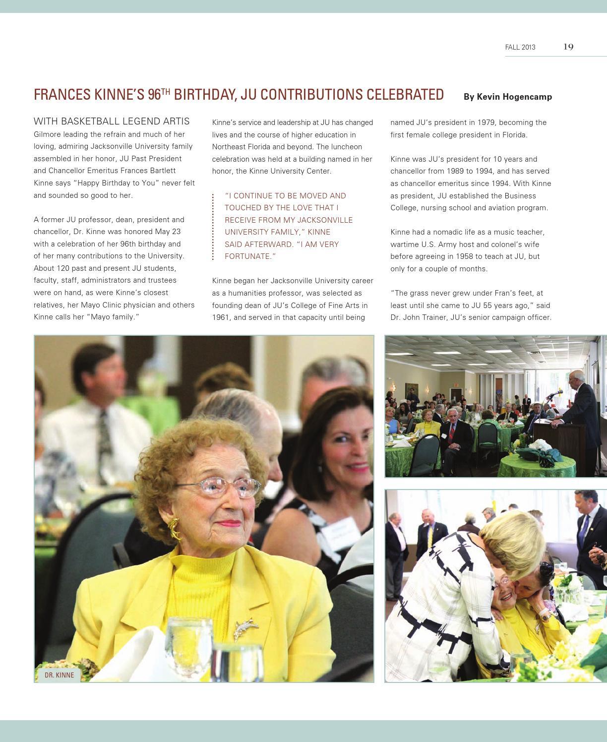Wave Magazine - Fall 2013 by Jacksonville University - issuu