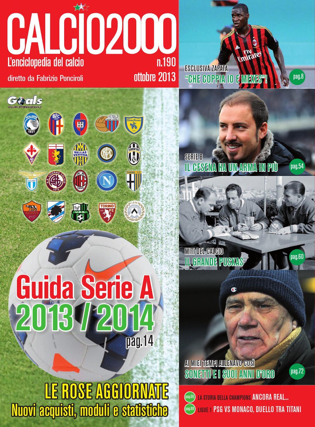 Calcio2000 Magazine 190 By Fabrizio Ponciroli Issuu