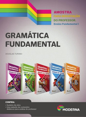2c0828fb0 Gramática Fundamental I by Editora Moderna - issuu