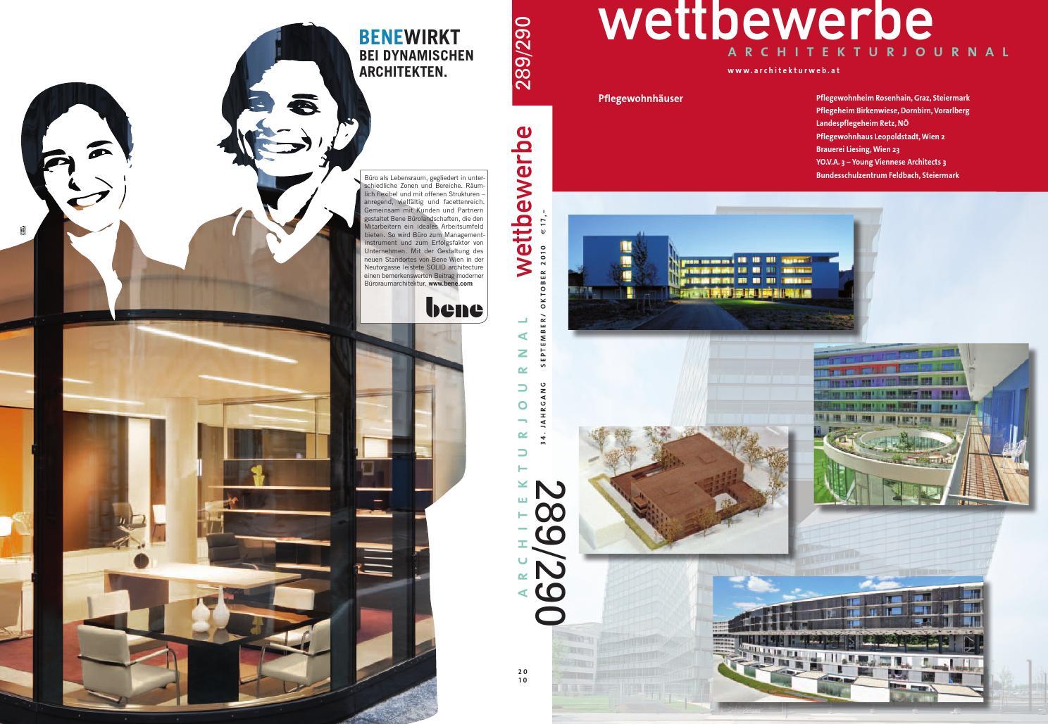 289/290 Sept/Okt 2010 by Architekturjournal wettbewerbe - issuu