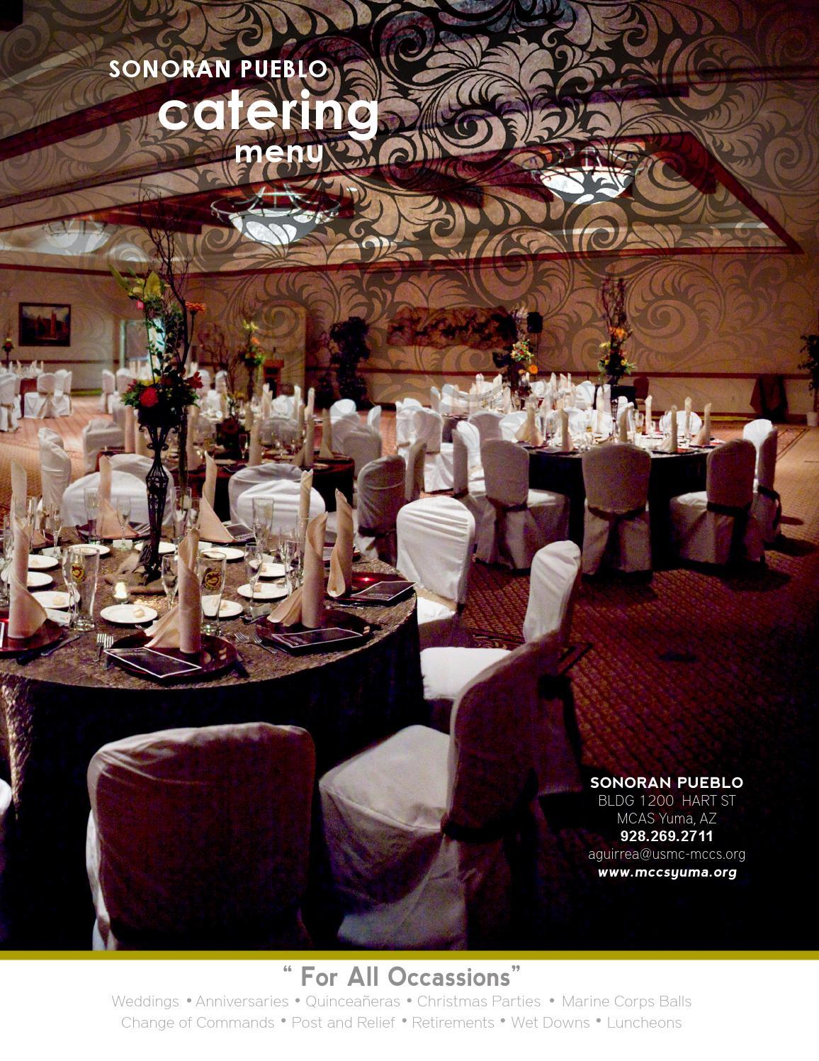 Sonoran pueblo catering menu by mccsyuma issuu junglespirit Gallery