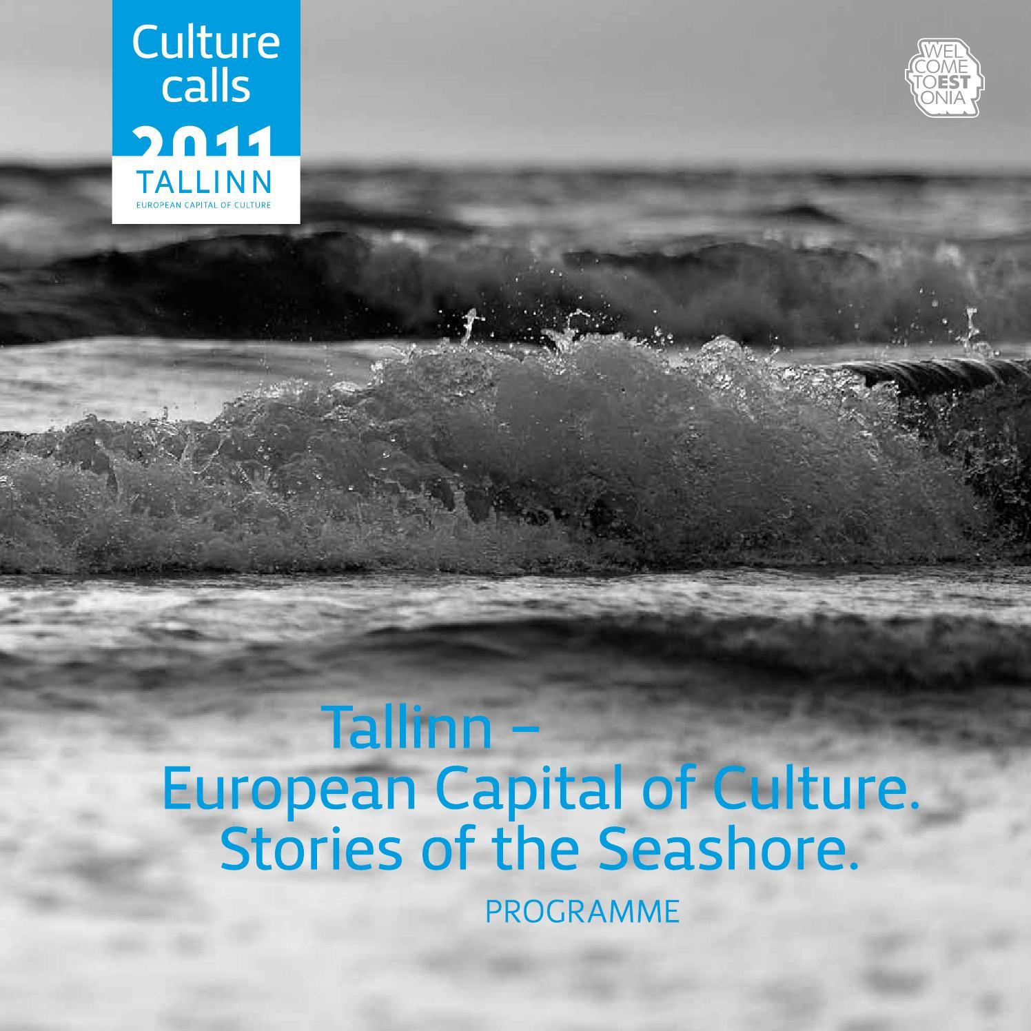 0365a010074c0 Tallinn%202011 %20the%20programme%20(eng) by Kultuuripealinn Tallinn - issuu