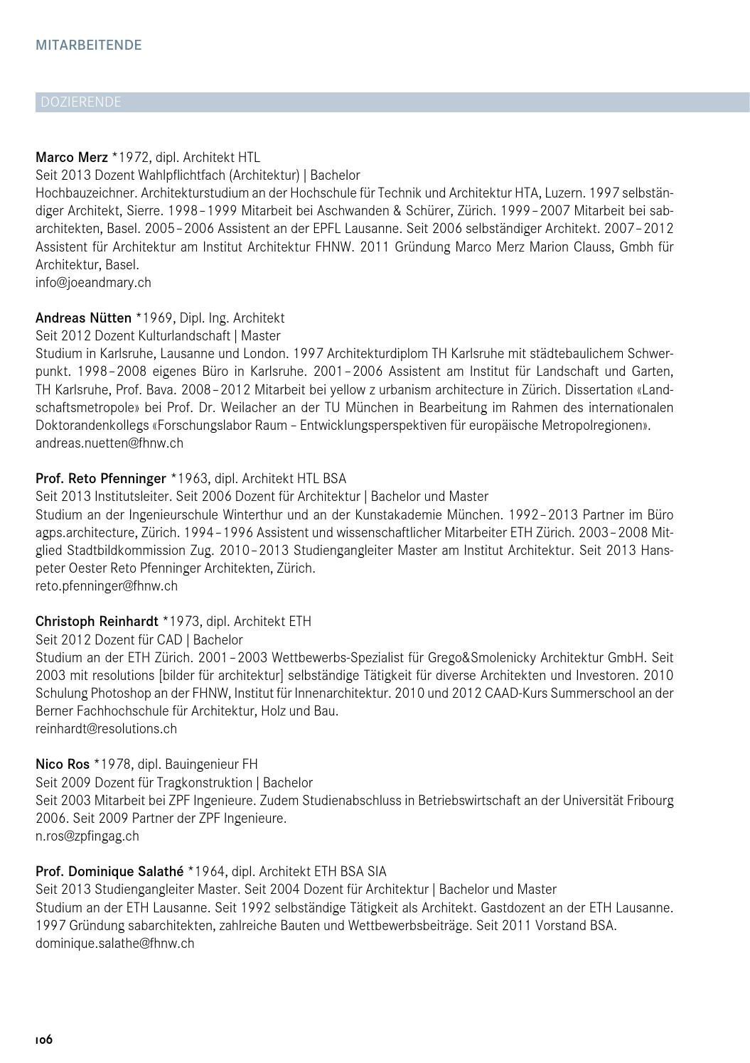 Innenarchitektur Eth Zürich fhnw iarch semesterprogramm hs13 by master architektur issuu