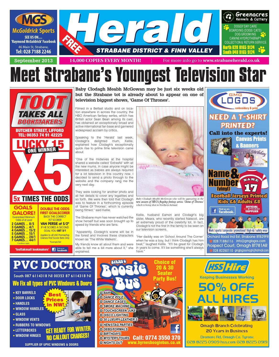 Strabane Herald September 2013 Edition by Neil Murray - issuu