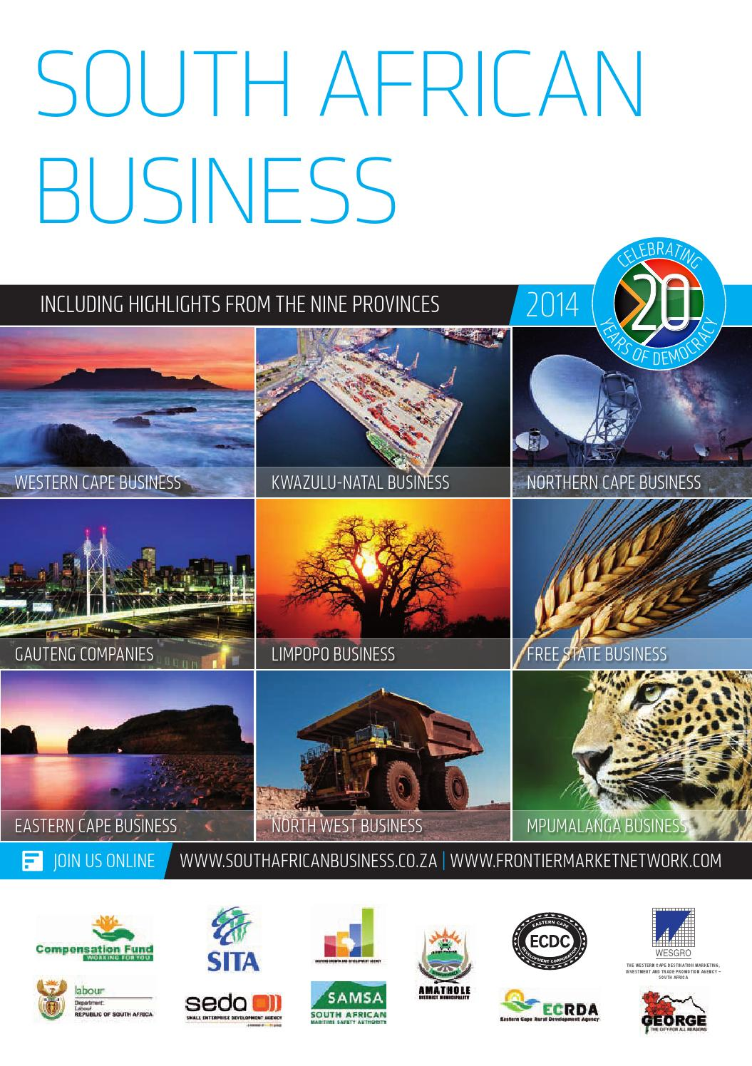 South African Business 2014 by Global Africa Network - issuu