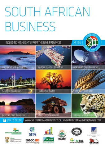South African Business 2014 By Global Africa Network Issuu
