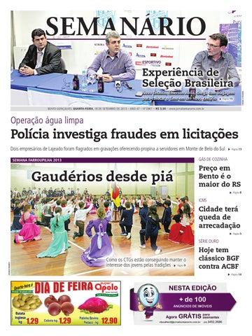 04acce4ca3 09 03 2013 - Jornal Semanário by Jornal Semanário - Bento Gonçalves ...