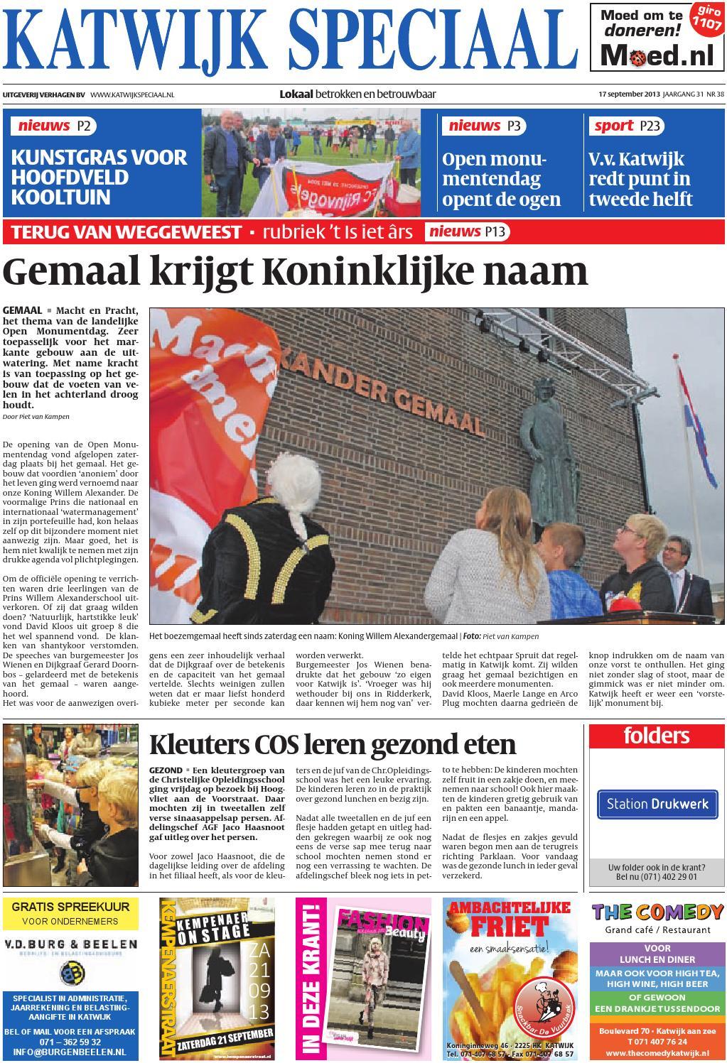 f879ab3308fa6d Ks week 38 13 by Uitgeverij Verhagen - issuu