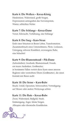 Lenormand für Einsteiger Leseprobe by Königsfurt Urania Verlag - issuu
