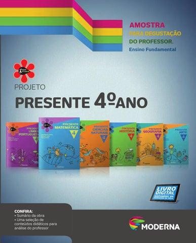 e5fae6cbd6803 Projeto Presente - 4º ano by Editora Moderna - issuu