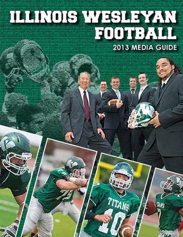2013 football brochure by Illinois Wesleyan University - issuu
