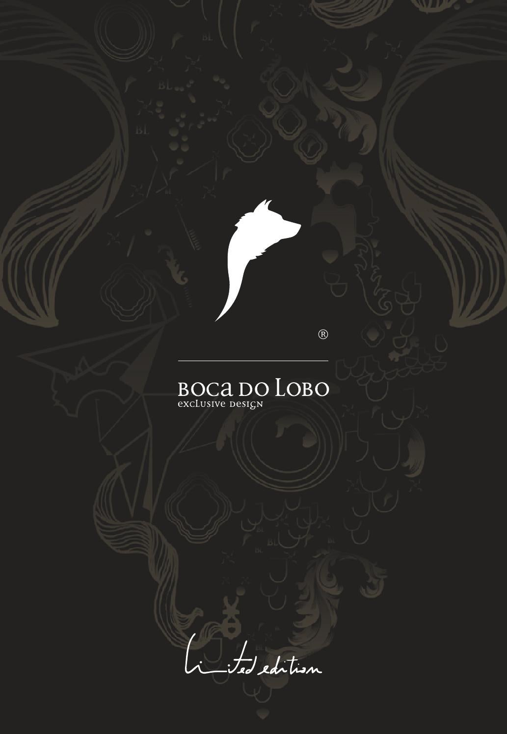 boca do lobo exclusive design limited edition. Black Bedroom Furniture Sets. Home Design Ideas