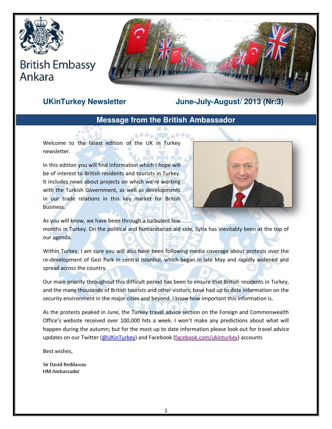 Ukinturkey newsletter Sept 2013 by ukinturkey ukinturkey - issuu