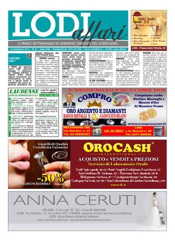 e9a7860bc0 Lodi Affari 19 Settembre by Lodi Affari - issuu