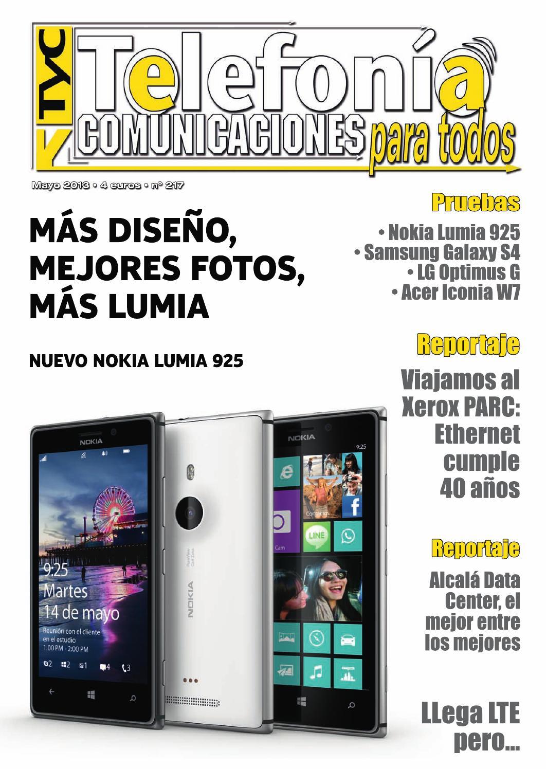 c47e23a3fab Telefonía y Comunicaciones Mayo 2013 by TyC Telefonia y Comunicaciones -  issuu