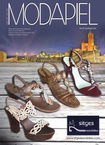 buy online 3bcb0 bb233 Modapiel 122 Shoes and accessories magazine by Prensa Técnica S.L. ...