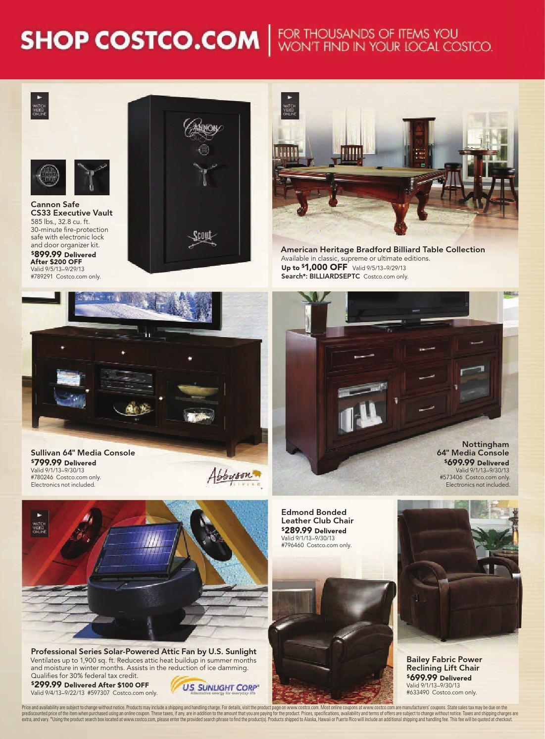Admirable Costco Flyer Valid Until Sept 30 By Broshuri Issuu Machost Co Dining Chair Design Ideas Machostcouk
