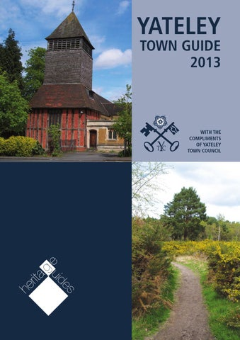 Official Yateley Town Guide 2013