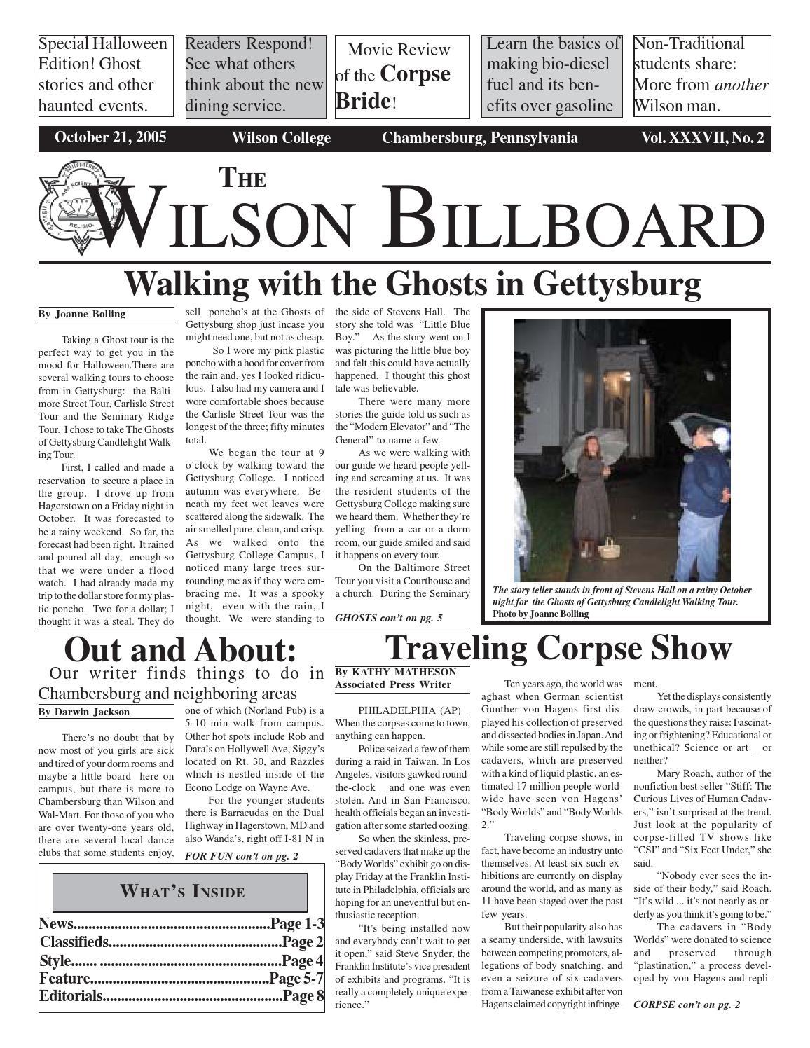 2005 10 21 by The Wilson Billboard - issuu
