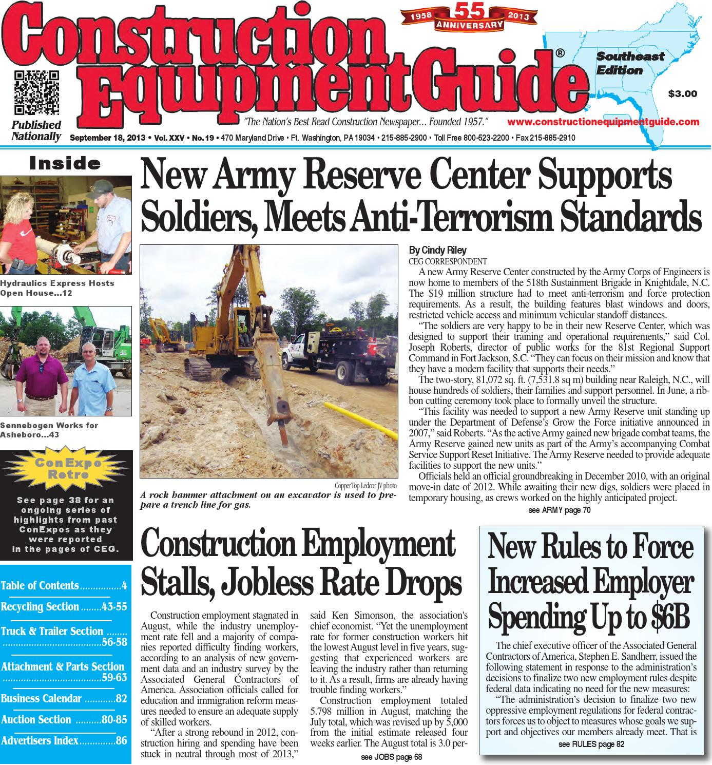 Southeast 19 2013 by Construction Equipment Guide - Issuu a32f2a463e