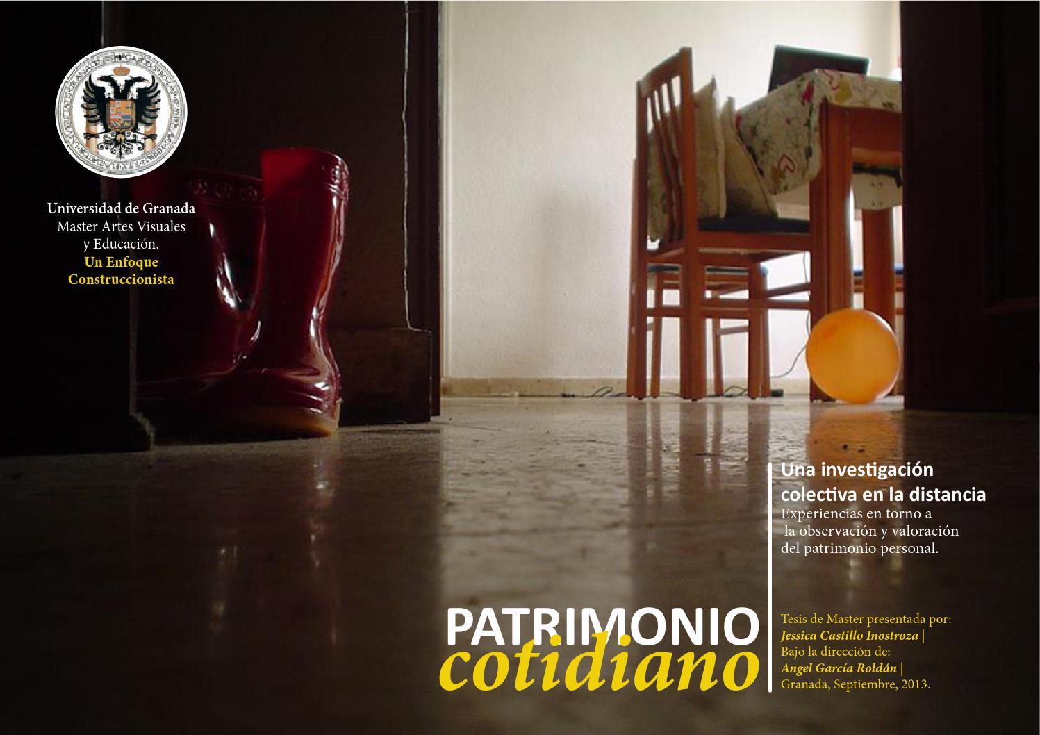El Patrimonio Cotidiano Una Investigaci N Colectiva En La  # Muebles Pegalajar Cierre