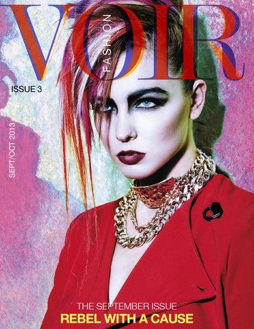 43105a7f02fd Voir Fashion - September Issue : Rebel Fashion by Voir Fashion ...