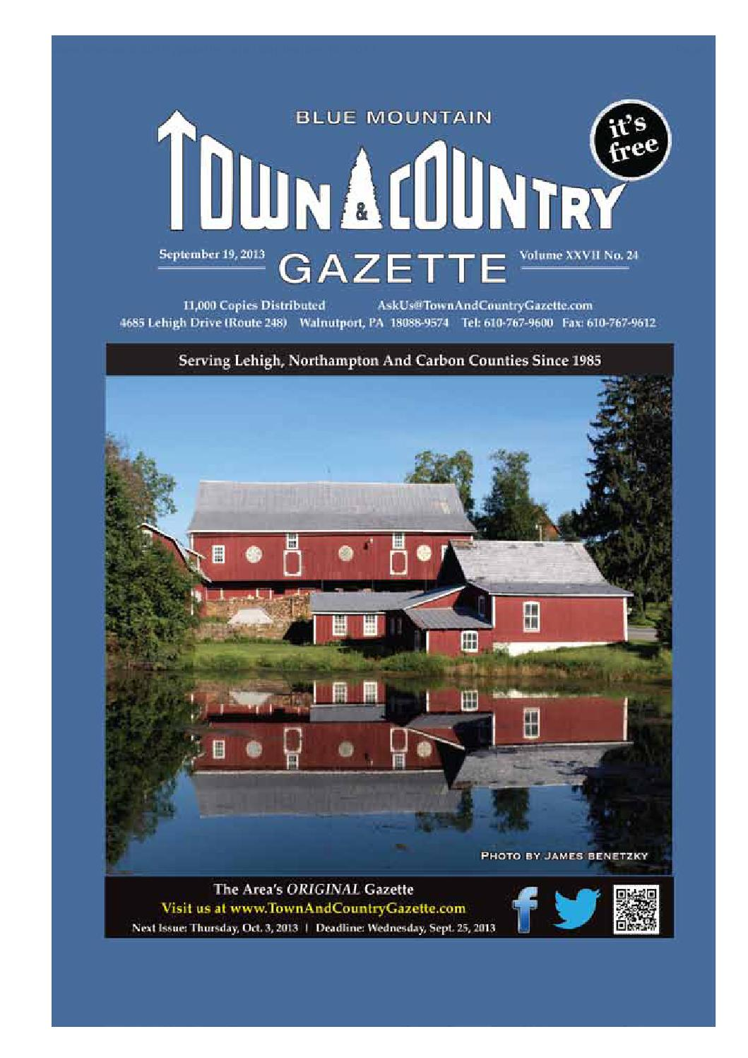Town & Country Gazette Sept 19 by Innovative Designs & Publishing ...