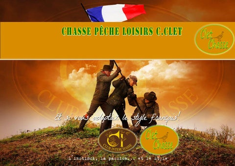 Catalogue 2013 Club Interchasse boutique Clet by Clet Christian - issuu bd5667cfda0