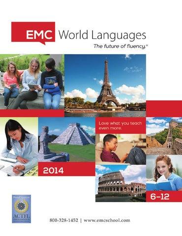 2014 world languages catalog 6 12 by emc publishing issuu page 1 fandeluxe Gallery