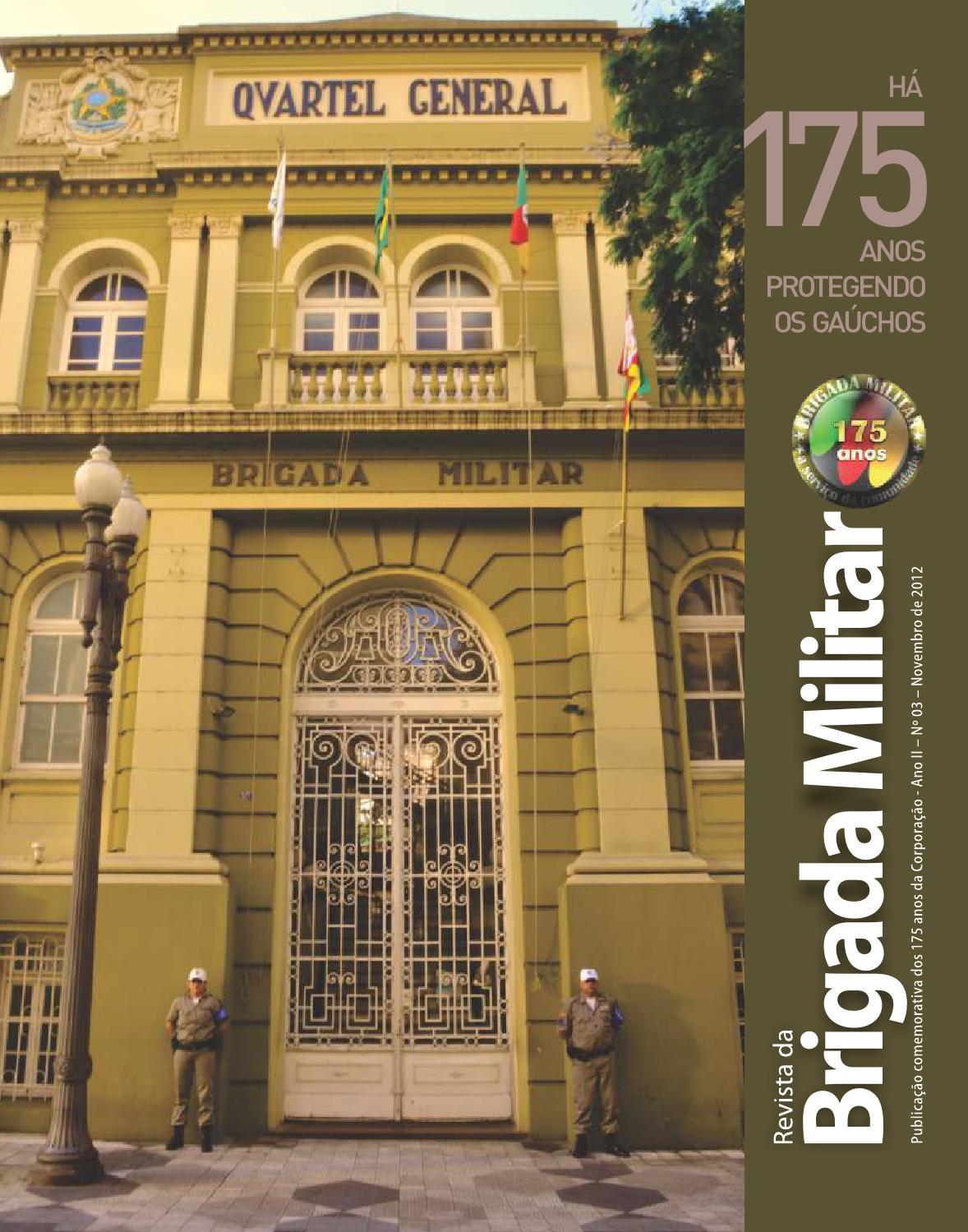 Revista da Brigada Militar - 175 Anos by Área Com Publicidade - issuu a72dcfc7931