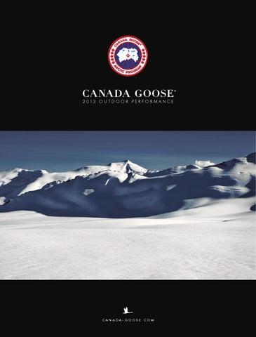 CANADA GOOSE - Workbook 2013 by LEVELSPORTKONCEPT s.r.o. - issuu e542236f5713