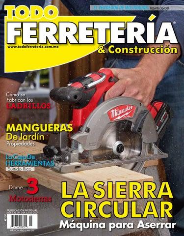 EDIC. 20 LA SIERRA CIRCULAR by TODO FERRETERÍA - issuu 5dfcab5dc767