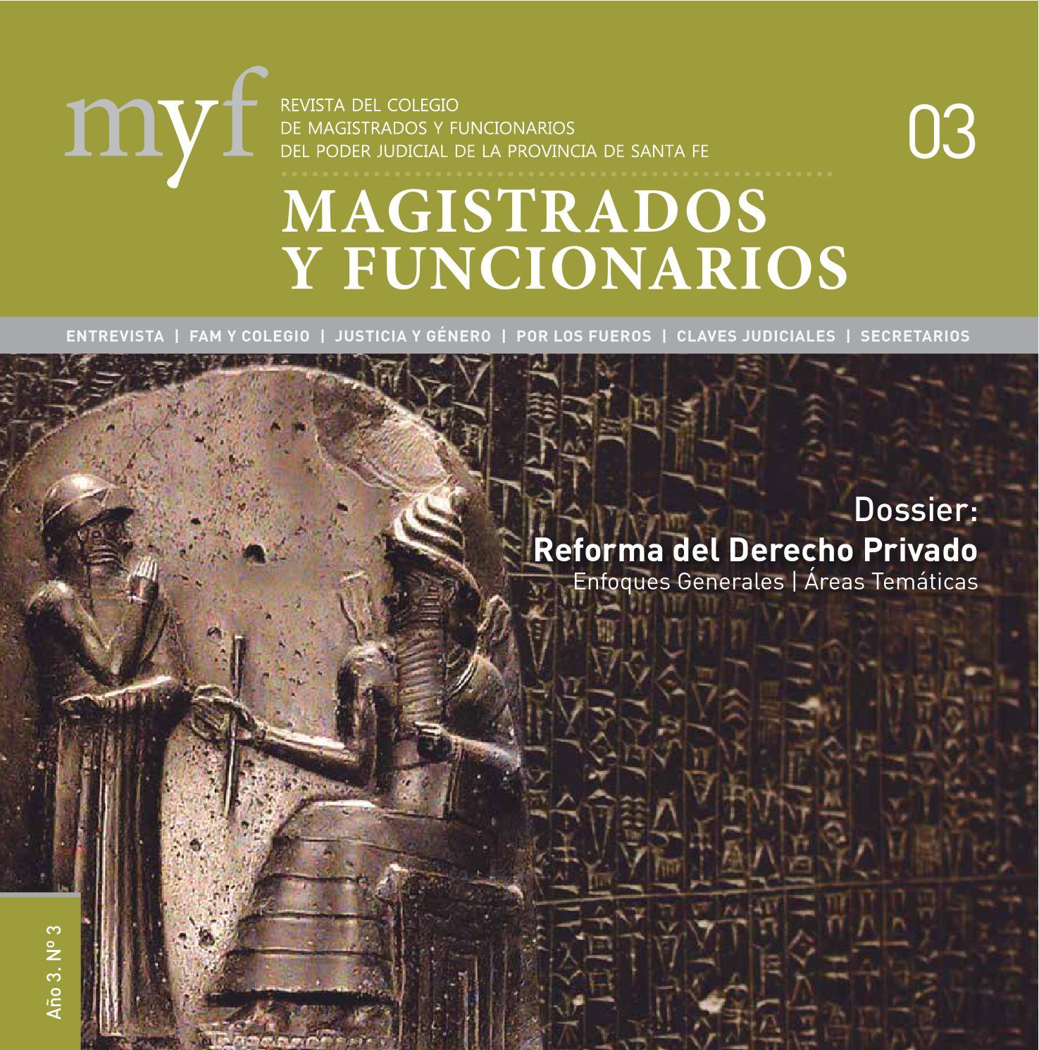 Revista MyF - 03 - Edición 2013 - Parte 1 de 2 by Colegio de ...