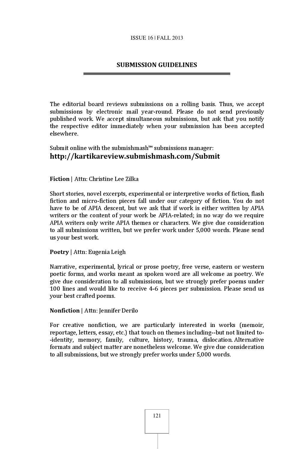 Kartika Review 16 by Kartika Review - issuu
